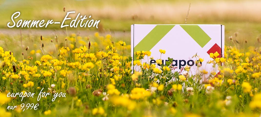 eurapon for you Box - Apothekenox in der Sommer-Edition