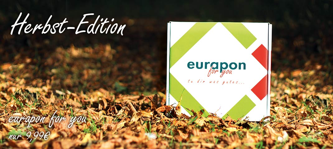 eurapon for you Box in der Herbst-Edition 2016