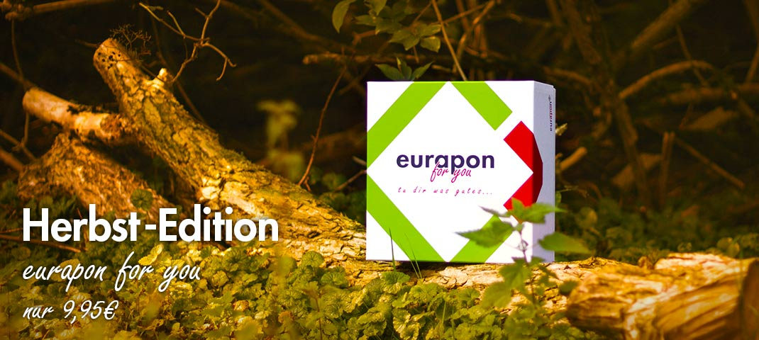 eurapon for you Box in der Herbst-Edition 2017