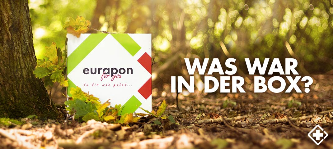 Unboxing des Inhalts der eurapon for you Box in der Herbst-Edition