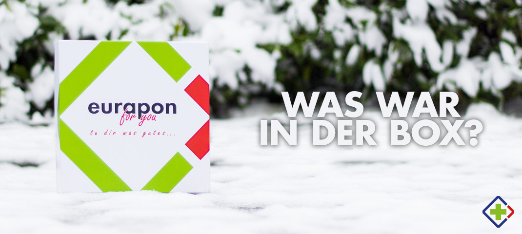 Unboxing der eurapon for you Winter-Edition