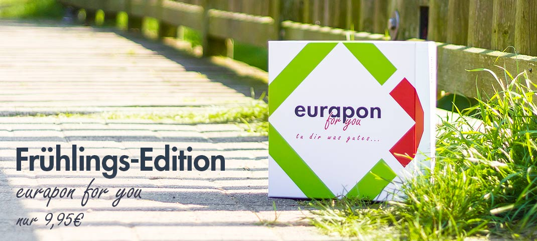 eurapon for you Frühlings-Edition 2018