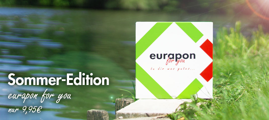 eurapon for you Box Sommer 2018