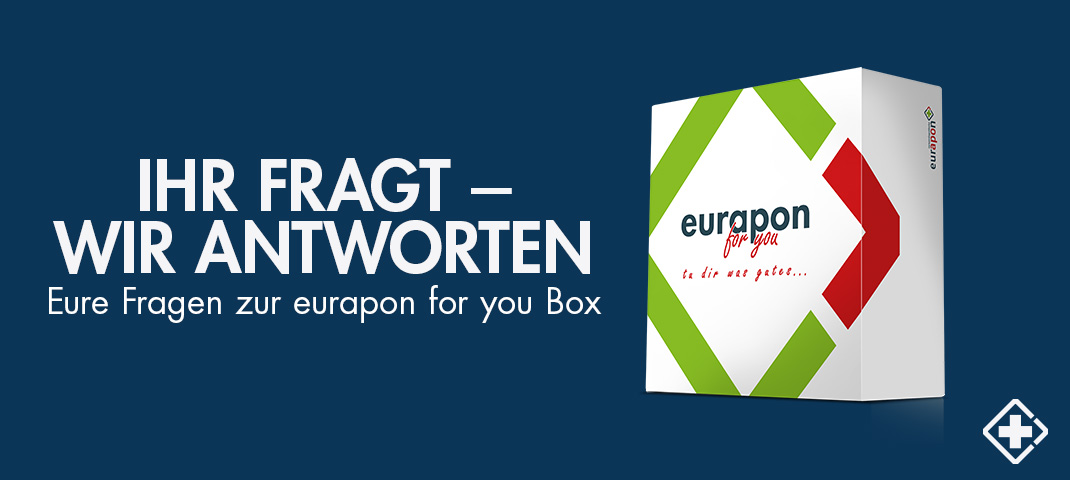 User Fragen zur eurapon for you Box