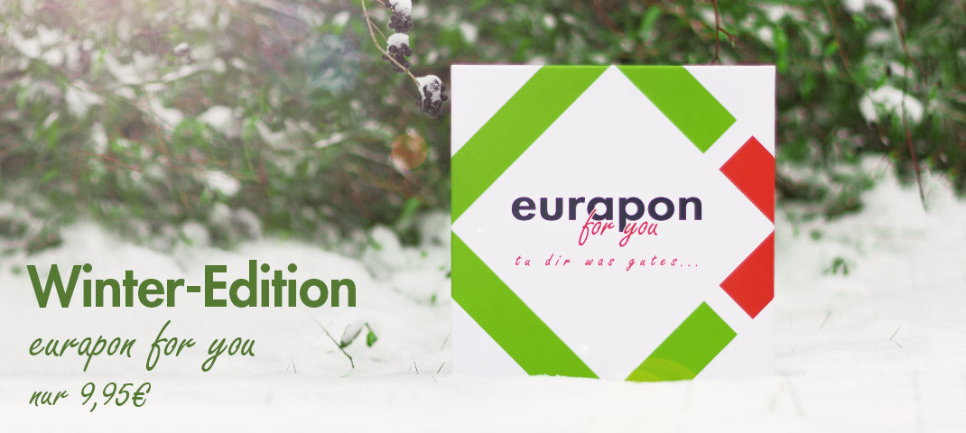 eurapon for you winter 2018 Verkaufsstart