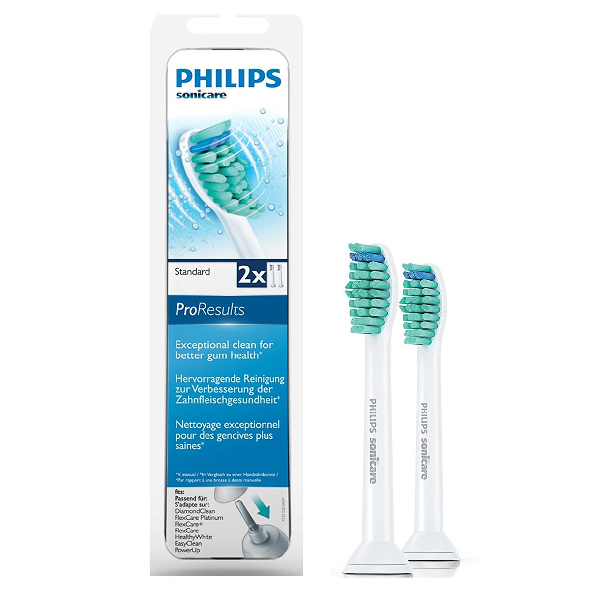 philips sonicare proresults b rstenkopf 01895938. Black Bedroom Furniture Sets. Home Design Ideas