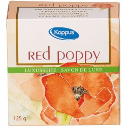 Kappus red Poppy Seife